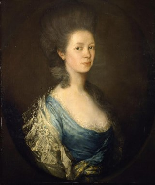 Thomas Gainsborough, Mrs Kilderbee, 1750-59, Colchester and Ipswich Museum Service