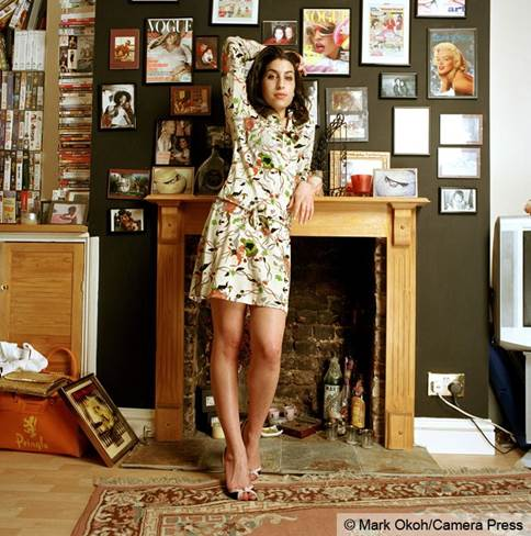 Amy Winehouse © MARK OKOH, CAMERA PRESS LONDON