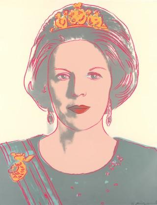 Andy Warhol (1928-1987) - Portret van koningin Beatrix, 1985 (Mauritshuis, Den Haag)