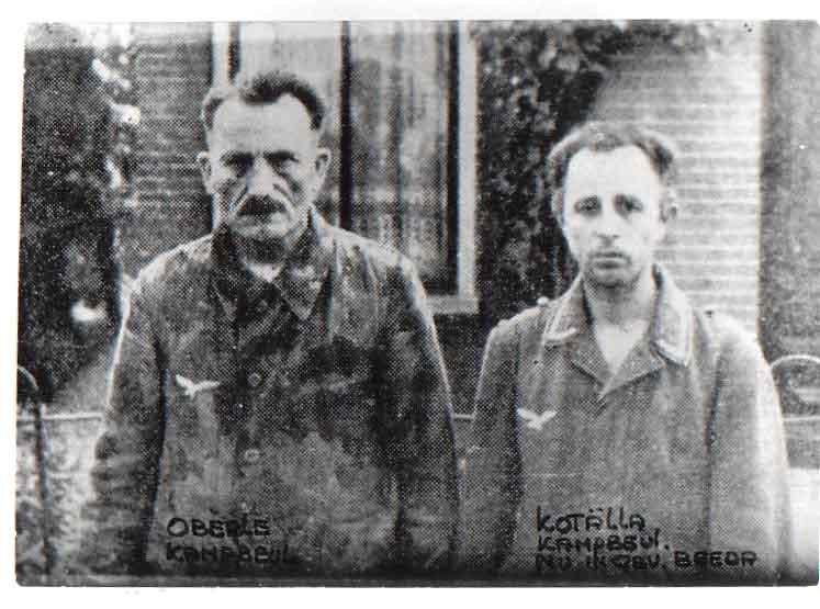 Joseph Kotälla - rechts - Amersfoort 1945