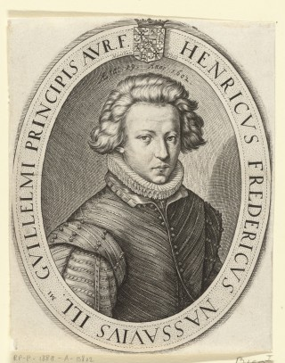 Frederik Hendrik in 1602