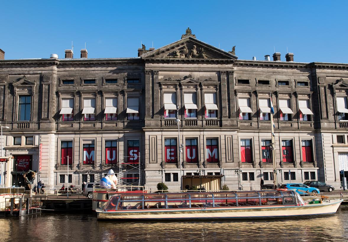 Het Allard Pierson Museum in Amsterdam - cc