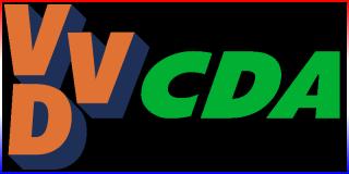 Kabinet Rutte I - Een kabinet van VVD en CDA met gedoogsteun van de PVV.