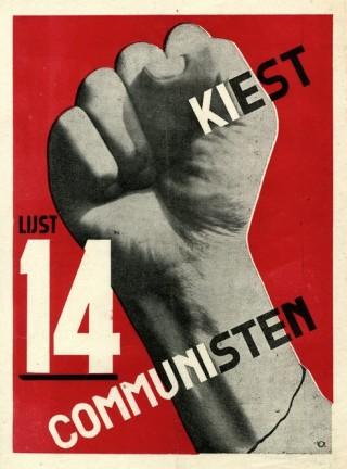 Verkiezingsaffiche van de CPH uit 1933.