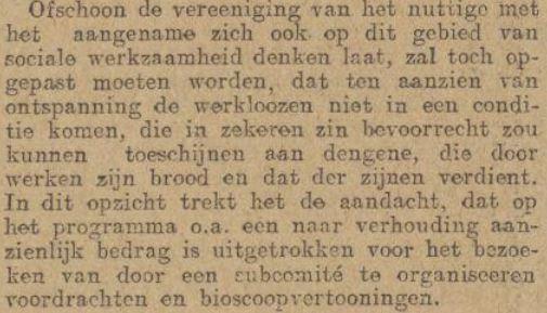 Uit: Algemeen Handelsblad, 7 februari 1915