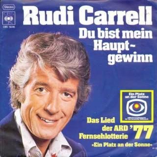 Plaat van Rudi Carrell (1934-2006) uit 1977. Bron: jwwb.nl