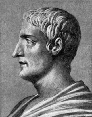 Fictief portret van Publius Cornelius Tacitus