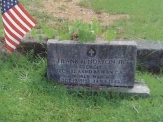 Graf van Frank H. Norton Jr. in Amerika