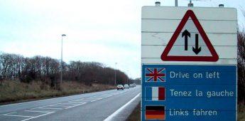 Waarom de Engelsen links rijden