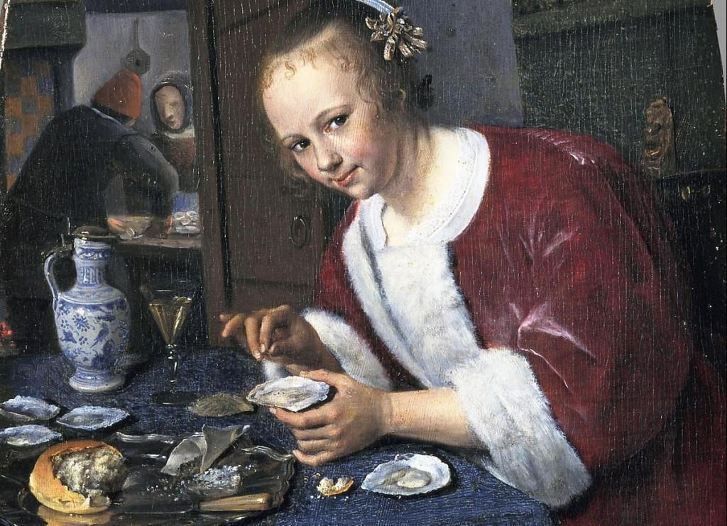 Meisje met de oesters - Jan Steen