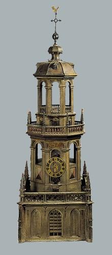 Model uit 1615-1616 - houten koepellantaarn Laurenskerk (Hendrick de Keyser - collectie Museum Rotterdam)