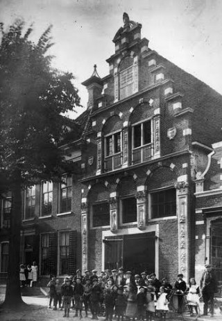 Noard 5 in Workum (omstreeks 1920)