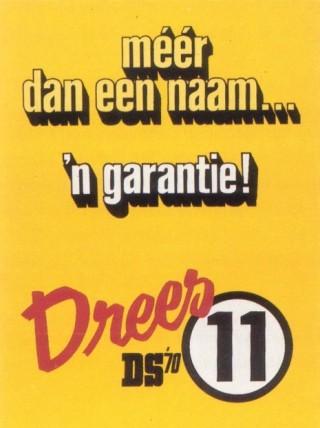 Verkiezingsposter van DS'70