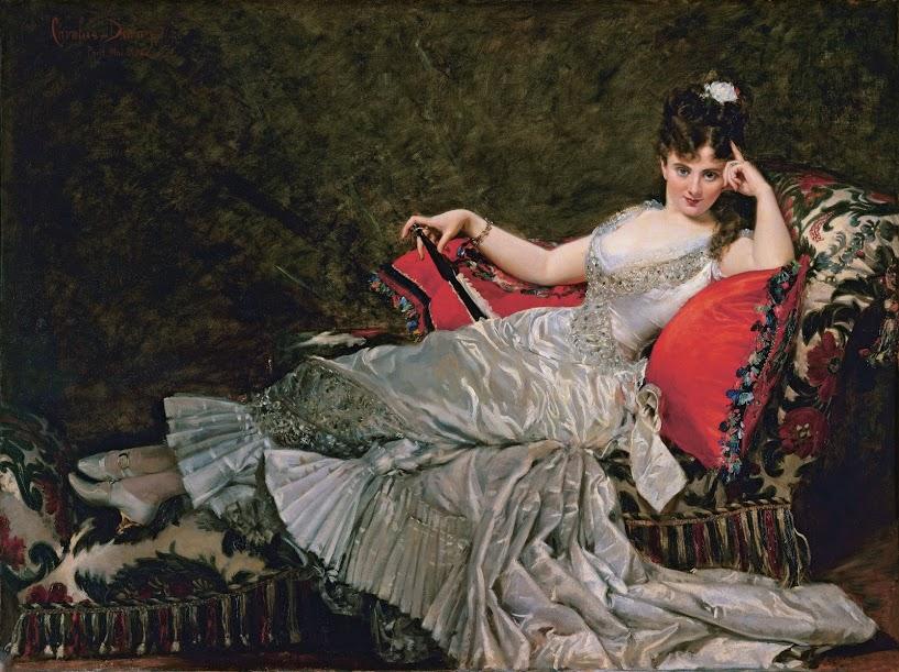 Carolus-Duran, Portret van Julia Tahl, bekend als Mademoiselle Alice de Lancey, 1876, Petit Palais, Musée des Beaux-Arts de la Ville de Paris, Parijs