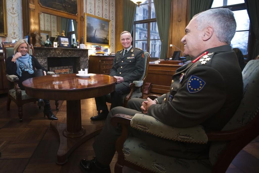 De werkkamer van de minister van Defensie (Defensie)