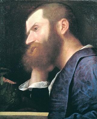 Pietro Aretino - Portret door Titiaan