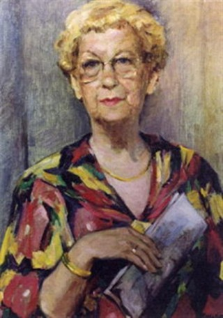 Schilderij van Catharine Halkes