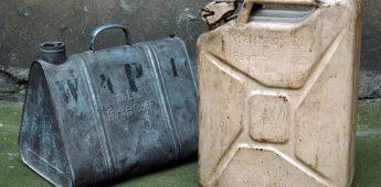Jerrycan: moffenblik voor benzine en drinkwater