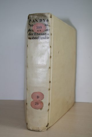 Boek in een spitselband (Meermanno - 109 D 023)