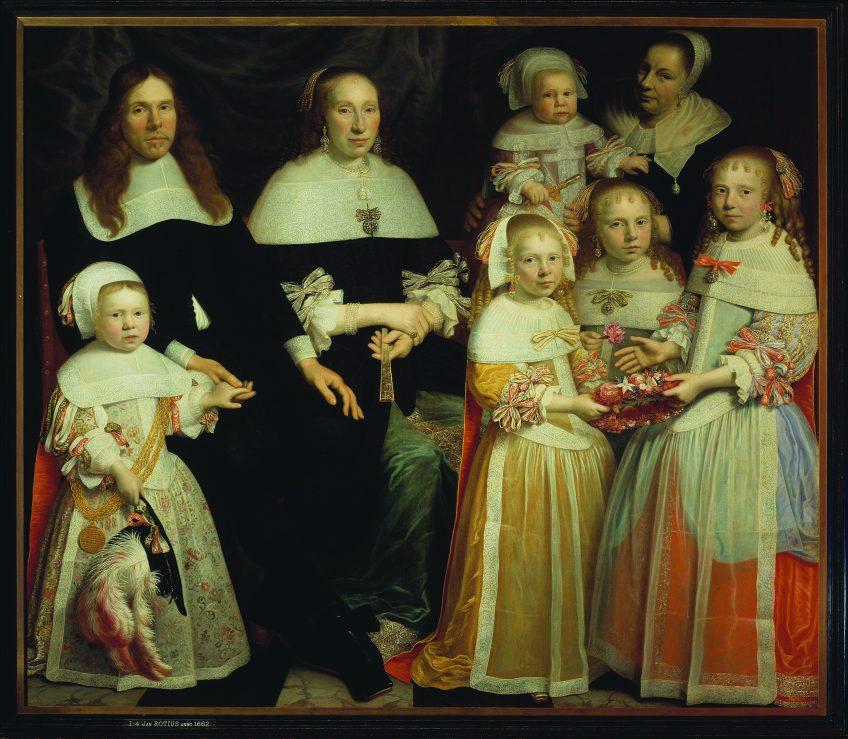 Rotius - Familie Sonck (Museum Mayer van den Bergh, Antwerpen)