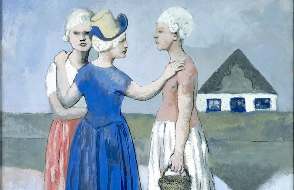 Pablo Picasso, Les trois Hollandaises, 1905,© Succession Picasso 2016 (detail)