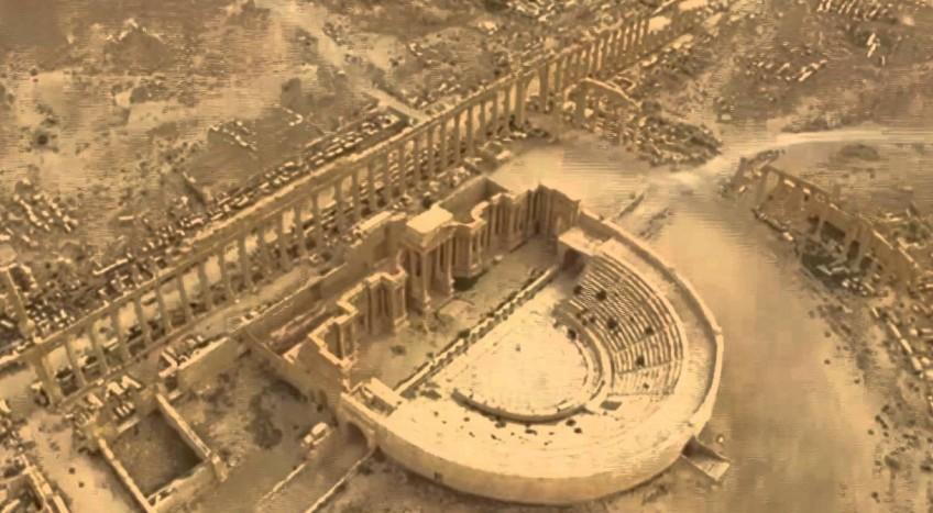 Verwoestingen Palmyra
