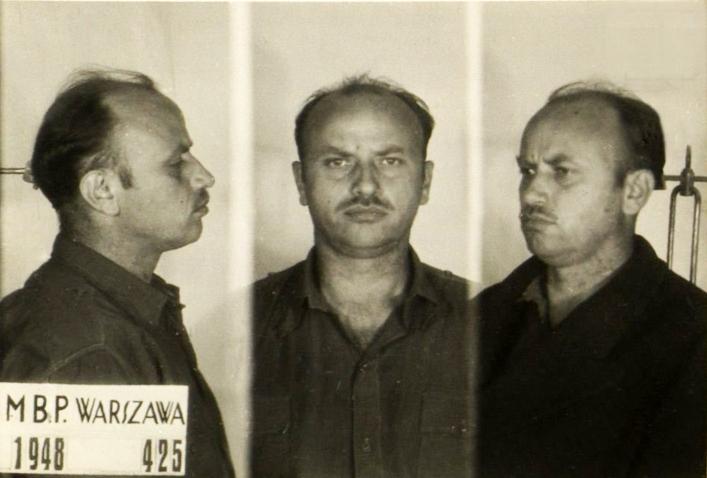Zygmunt Szendzielarz na zijn arrestatie
