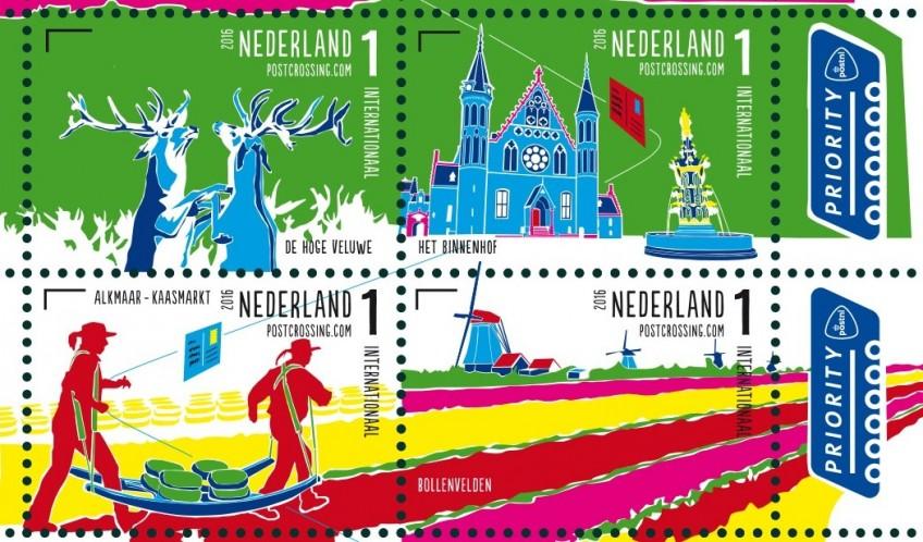 Bezienswaardigheden op nieuwe internationale postzegels