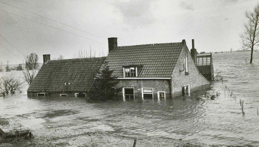 Watersnoodramp 1953. Bron: Watersnoodmuseum (www.watersnoodmuseum.nl)