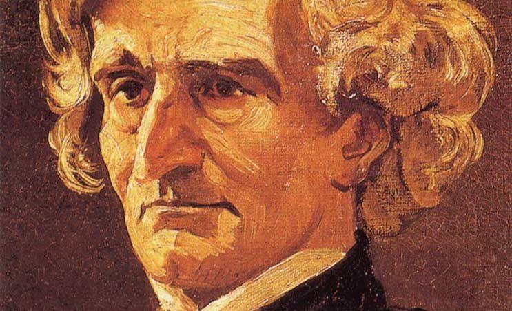 Hector Berlioz (1803-1869), tekening door André Gill. Bron: Wikimedia