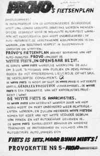 Provokatie nr.5: het Wittefietsenplan. Bron: people.umass.edu