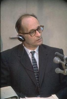 Adolf Eichmann in 1961 (Israëlische overheid)