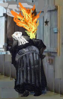 Brand in de bedstee - cc