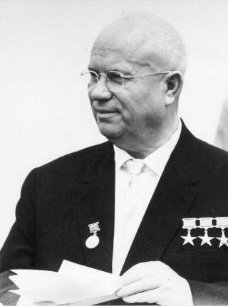 Nikita Sergejevitsj Chroesjtsjov, Bron: Bundesarchiv