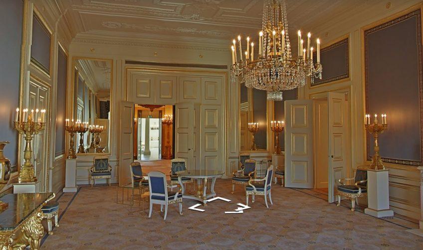 Paleis Noordeinde te bezoeken via Google Street View