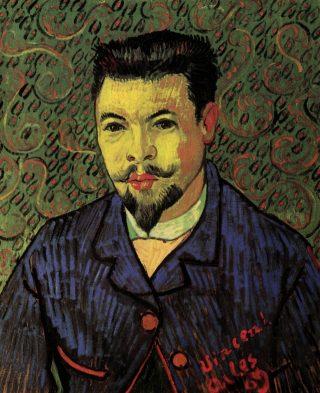 Portret van Félix Rey - Vincent van Gogh