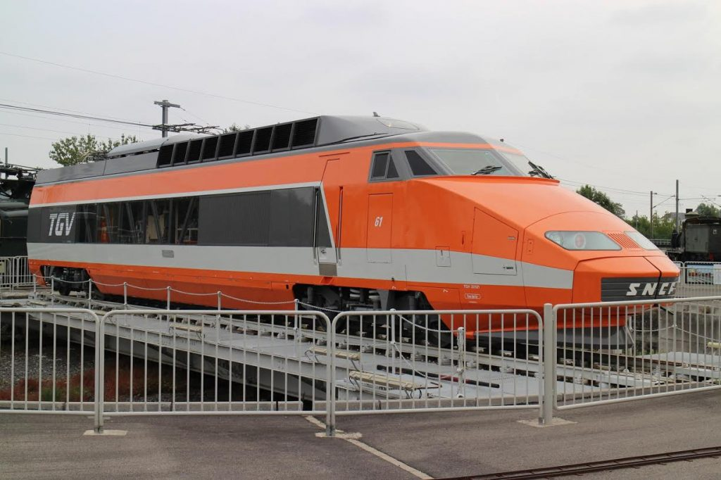 Motorwagen TGV 61 in Cité du Train | Rsa/Wikimedia Commons CC-BY-SA