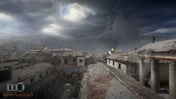 Een dag in Pompeii - animatie