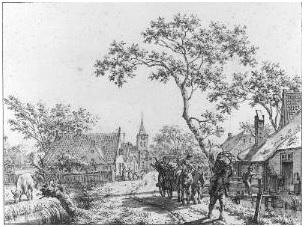 Jacob Cats, Mei – verhuizing, 1796-1799. Collectie Amsterdam Museum, TA 10451)