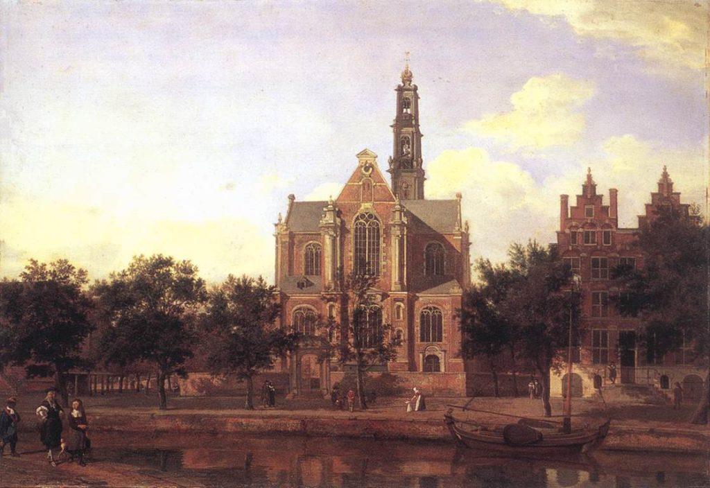 De Westerkerk - Jan van der Heyden
