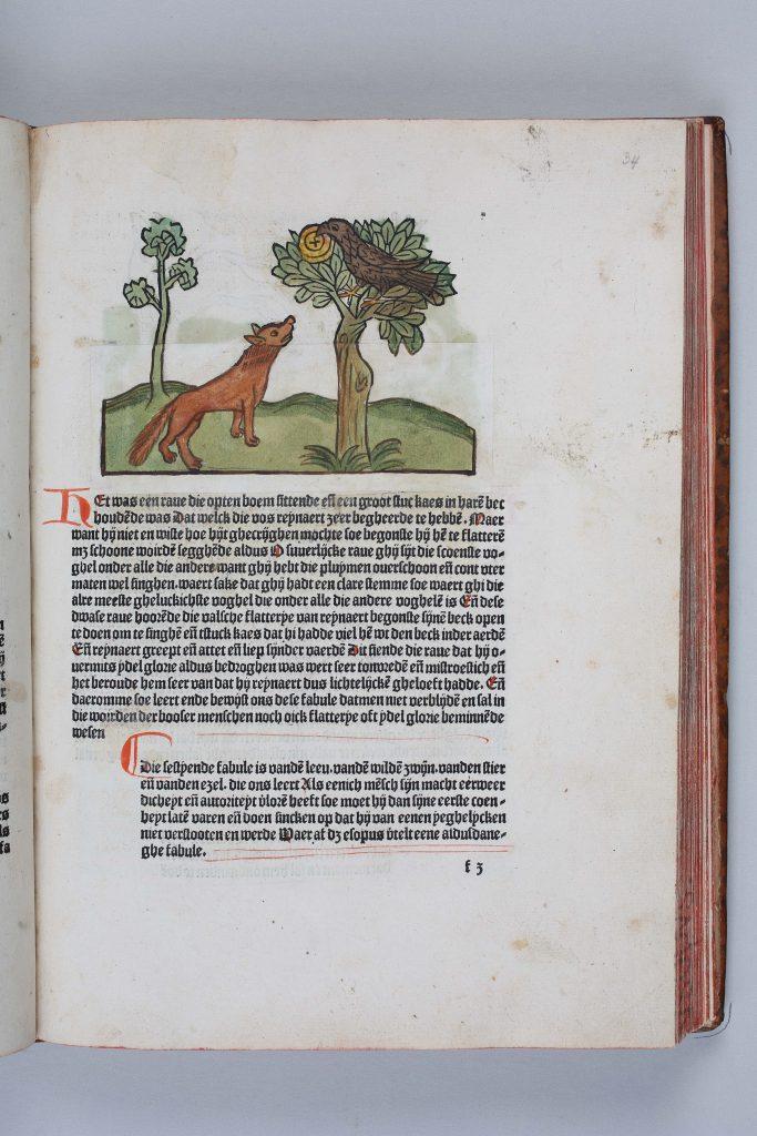 Reproductie Boek Meermanno. (Den Haag 23-06-15) Foto:Frank Jansen