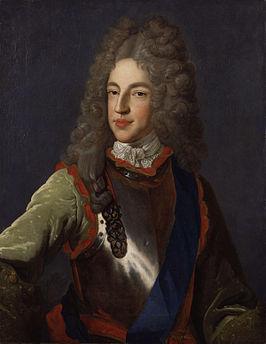 Troonopvolger Jacobus, die als hoax in de wieg lag.