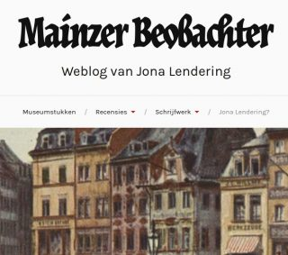 Mainzer Beobachter van Jona Lendering