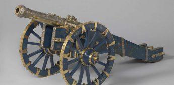 Het kanon van de koning van Kandy