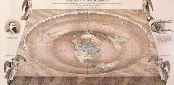 De waan van de 'platte aarde'