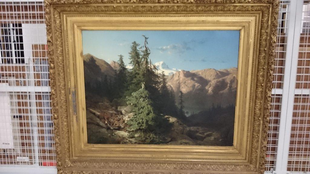 Schilderij van Calame.