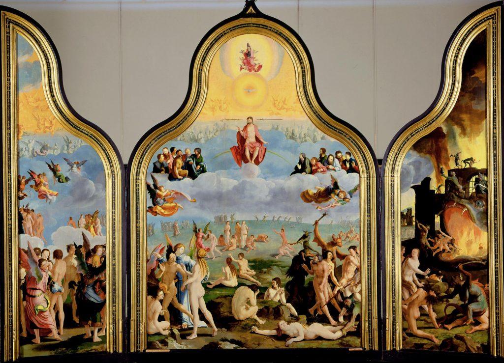 Predestinatie - Lucas van Leyden, Laatste Oordeel (1526-27). Collectie Museum De Lakenhal, Leiden