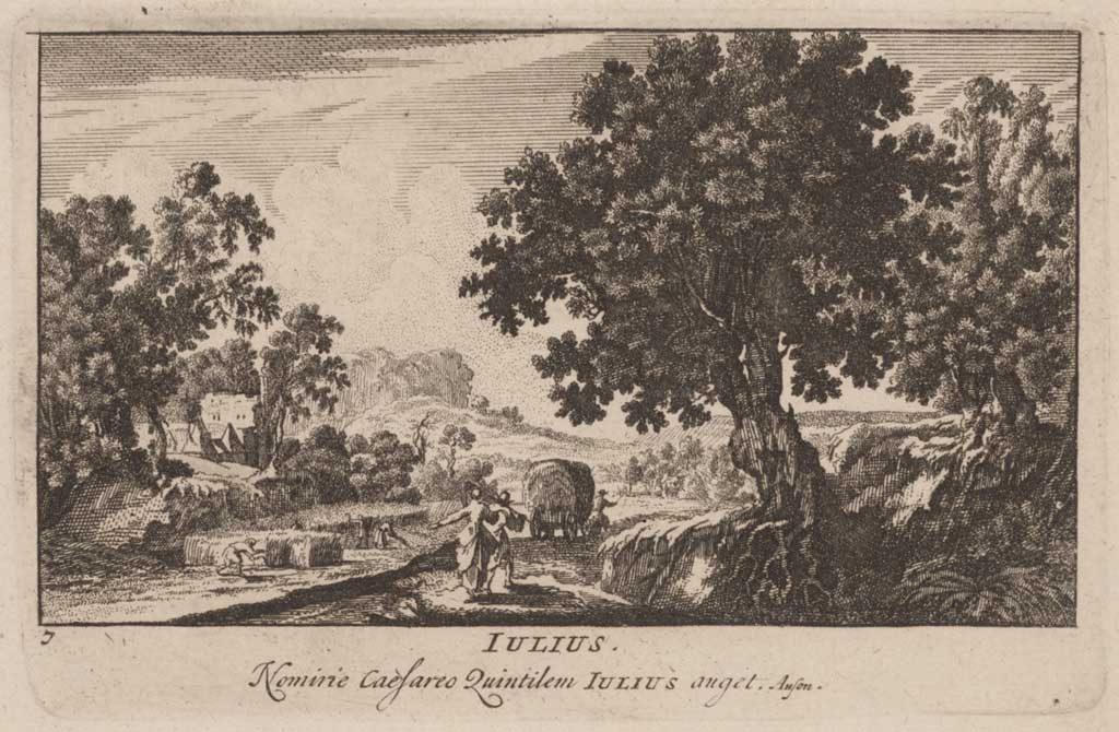 Pieter Schenk (uitgever), Julius, ets, 1701. Collectie Amsterdam Museum, A 56568