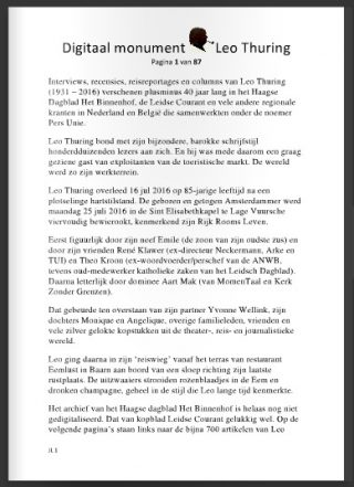 Digitaal monument Leo Thuring
