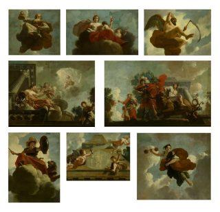 Gerard de Lairesse, Plafondschildering Leprozenhuis, Amsterdam